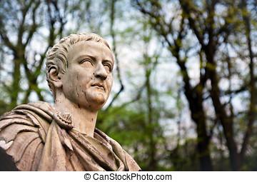 Tiberius Portrait - Bust of 2nd Roman Emperor - The XIX copy...