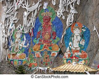 Tibet - Buddha