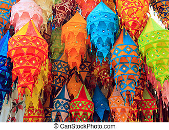 Tibet color chandelier