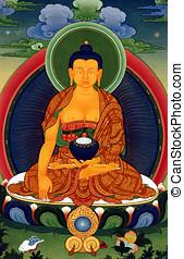 Tibet painting
