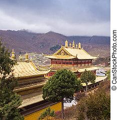 Tibetan Buddhist monastery in China