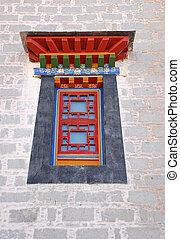 Tibetan window style - Window style in Potala palace, Tibet