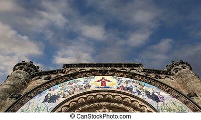 Tibidabo church, Barcelona, Spain - Tibidabo church...
