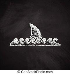 tiburón, icono
