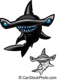 tiburón pez martillo