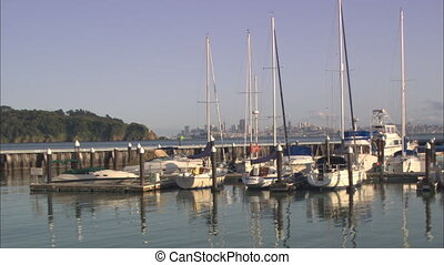 Tiburon Marina XLS San Fran2 .mov - WS Tiburon Marina with...