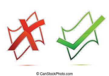 Tick and Cross Mark