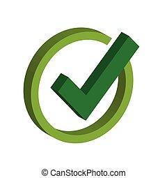 Tick Check Mark Icon