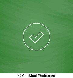 Tick computer symbol