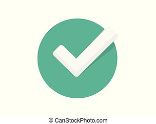 tick vector icon sign symbol