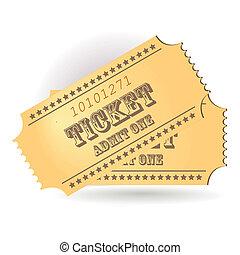 Ticket - two cinema tickets