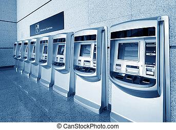 Ticket machines - Train ticket vending machines