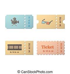 Ticket set icon