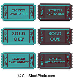 Tickets available and sold out