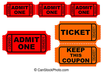 Tickets - Admission and raffle tickets