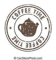 tid, kaffe