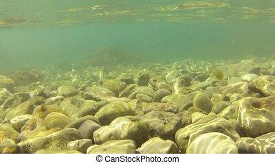 Tidal bore in Adriatic sea
