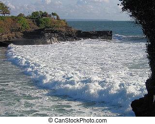 Tide At Tanah Lot, Bali