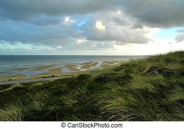 Tideland1 - Tideland of german island Sylt in the north sea