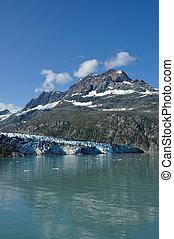 tidewater, lambplugh, glaciär, alaska