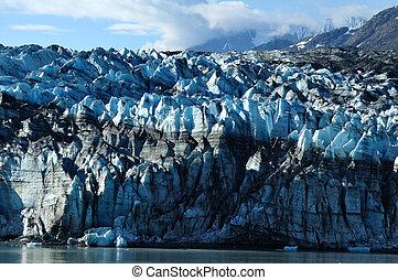 tidewater, lambplugh, gletscher, alaska