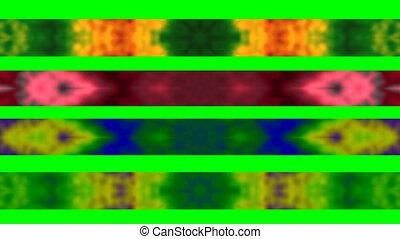 Tie-Dye Looping Lower Thirds