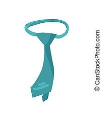 Tie Element of Formal Wear Vector Illustration - Tie element...