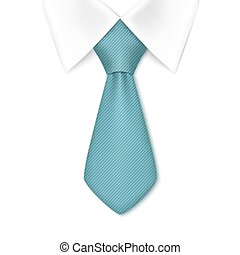 Tie isolated on white background.