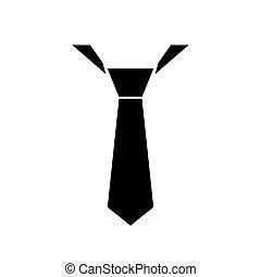 tie symbol vector