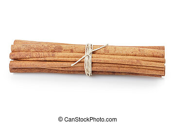 tied cinnamon cassia sticks