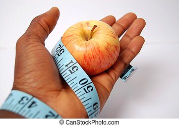 Tied Diet- Apple - This is an image of hand tied with a...