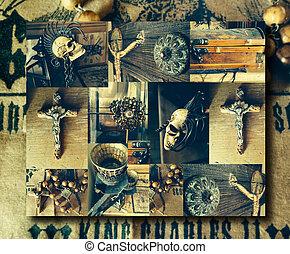 tiempo, collage