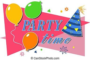 tiempo de la fiesta