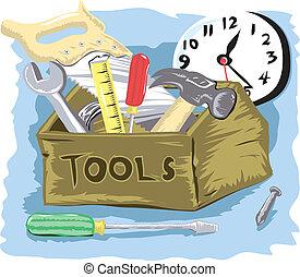 tiempo de la herramienta