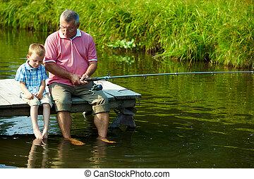 tiempo de pesca