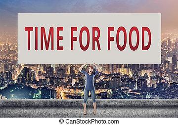 tiempo del alimento
