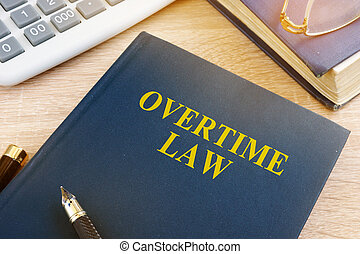 tiempo extraordinario, calculadora, oficina., ley