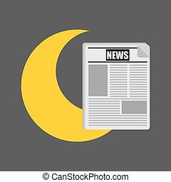 tiempo, informe, en, el, periódico