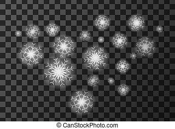 tiempo, nieve blanca, meteo, icono, escamas