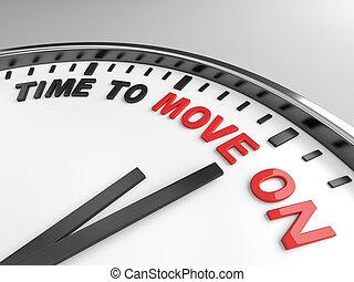 tiempo, para moverse