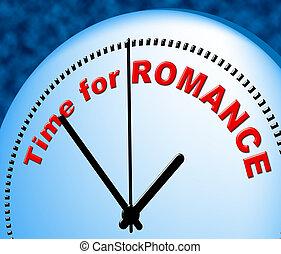 tiempo, para, romance, medios, en, el, momento, y, compasión