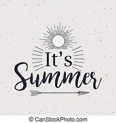 tiempo verano, diseño