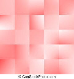 tien, abstract, eps, illustratie, achtergrond., vector, pleinen, rood