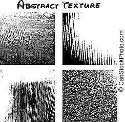 tien, eps, textuur, vector, zwarte achtergrond, aardig