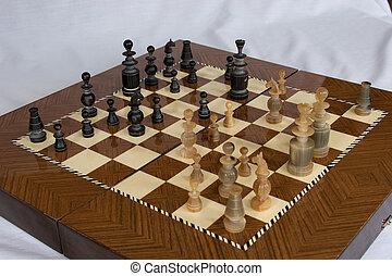 tien, schaakspel