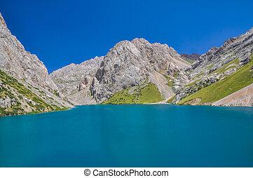 tien-shan, jezioro