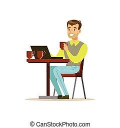 tienda, café, el suyo, charlar, tercero, taza, cima,...