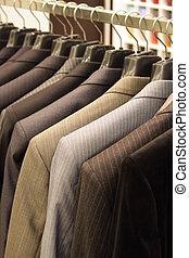 tienda, men\'s, ropa
