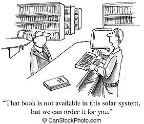 tiene, libros, alcance, biblioteca, largo