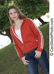 tiener meisje